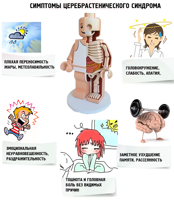 Церебрастения - лечение у остеопата